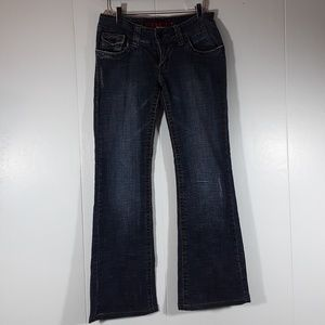 Hydraulic super low metro flare jeans size 5/6